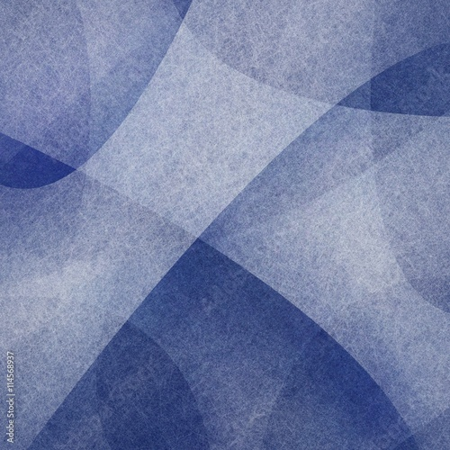 abstract layers of white curving shapes with texture on dark blue background design