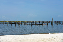 Destroyed Pier And Boat Dock