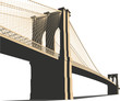 Brooklyn Bridge Vector
