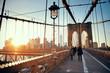 Walk on Brooklyn Bridge