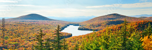 Fotografia  Lake Autumn Foliage