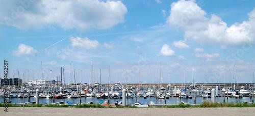 Obraz na plátně IJmuidens Hafen