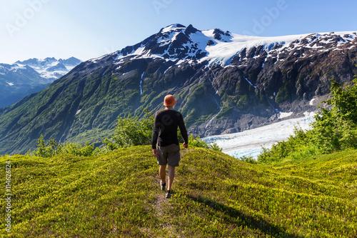 Valokuva  Hike in Exit glacier