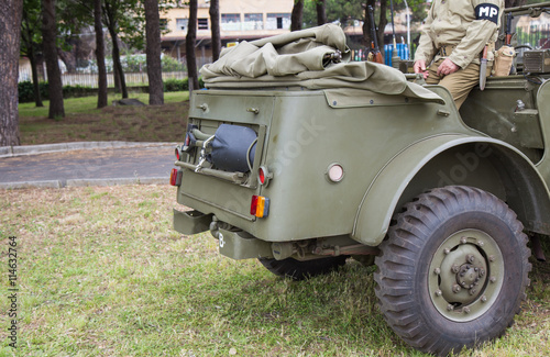 Poster  Military vehicle