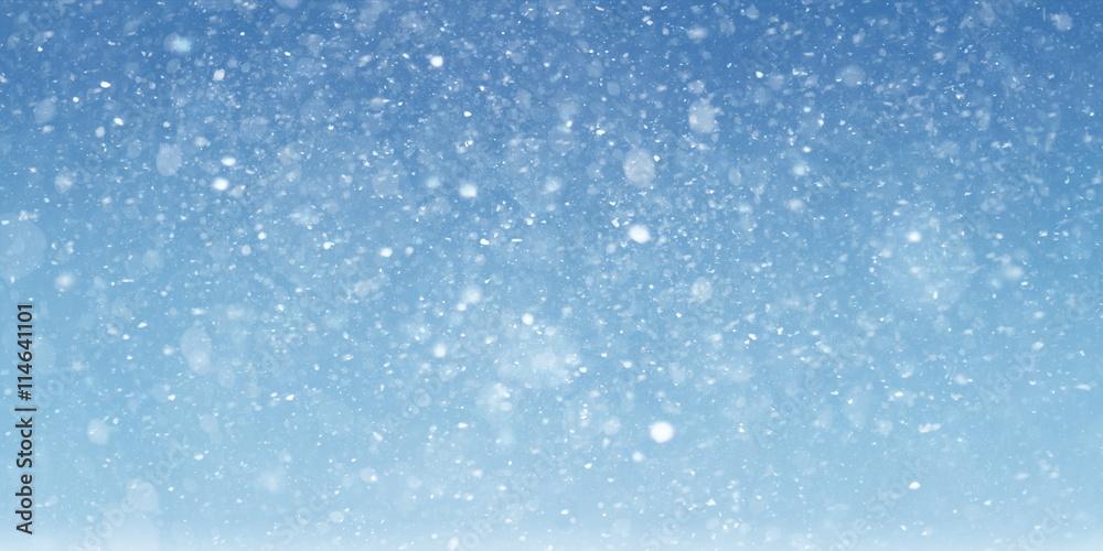 Fototapety, obrazy: Snow scene background