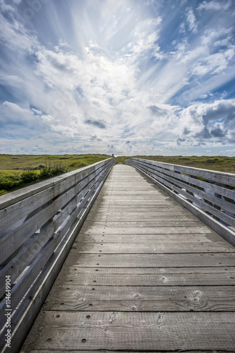 mata magnetyczna Connor Creek Bridge under blue sky.