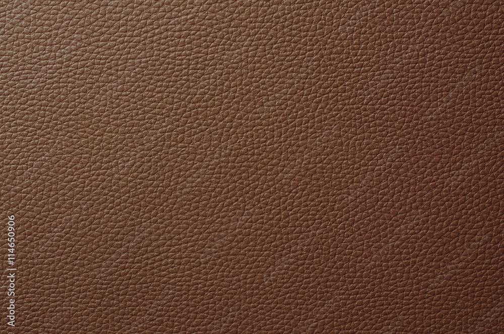 Fototapeta Brown leather texture background