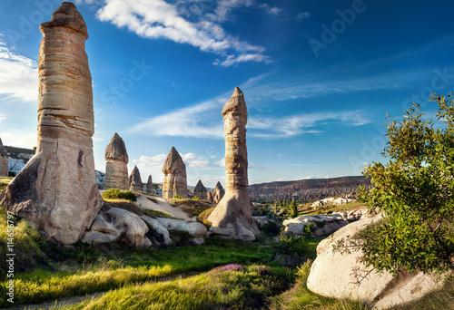 Cuadros en Lienzo Cappadocia Tufa Mountains