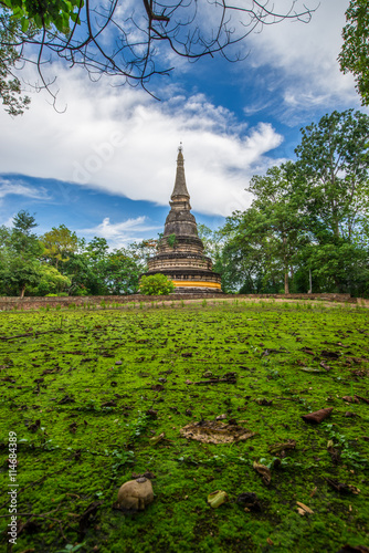 temple in thailand Canvas Print
