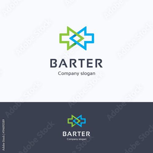Barter logo Wallpaper Mural
