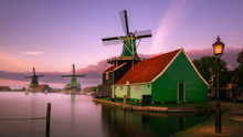 Twilight At Zaanse Schans, Win...