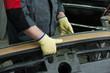 Repairing automotive body