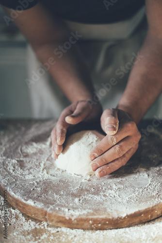 Foto op Canvas Bakkerij Baking bread