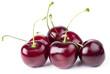canvas print picture - Kirsche Kirschen Frucht isoliert