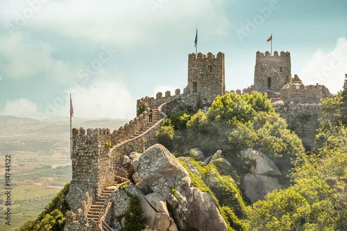 Fotografiet Moorish Castle, Sintra