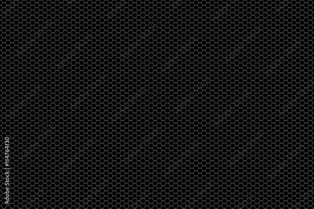 Fototapety, obrazy: black metallic mesh background texture