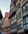 Half-timbered alsatian houses in Petite France quarter, Strasbourg