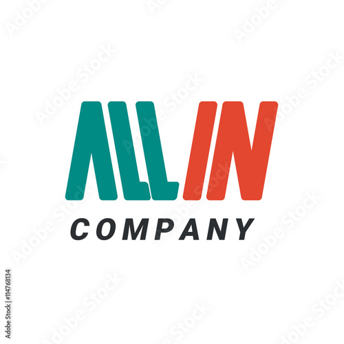 Logo All-In Canvas Print