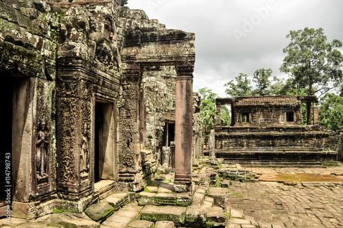 Bayon, Angkor Thom, Cambodia Canvas Print