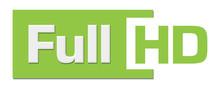 Full HD Green Stripe Horizontal
