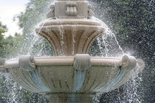 Detail Of The Fountain In The Archbishop's Garden, Eger, Hungary