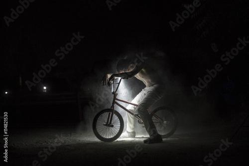 bmx rider.