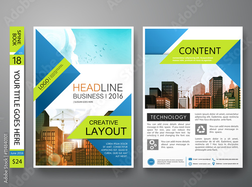 Book Cover Photography Business : Brochure design template vector business flyers cover