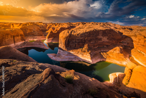plakat Reflection Canyon Lake Powell Utah