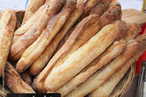 obraz lub plakat baguettes de pain 02072016
