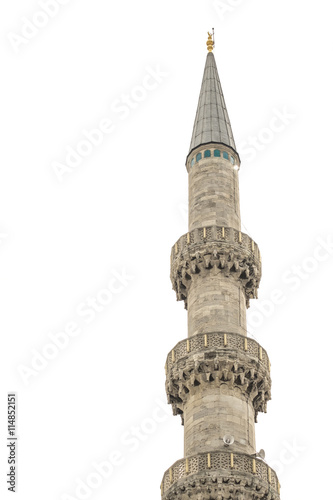 Canvas Print architecture minaret of mosque