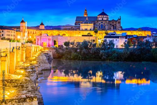 Fototapety, obrazy: Cordoba - Cathedral Mezquita, Andalusia, Spain