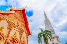 Wat Tha Uthen In Nakhon Phanom,Thailand.