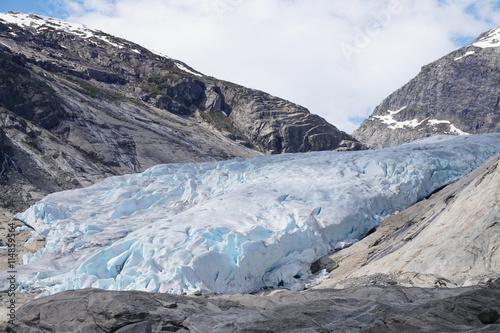 Fotobehang Gletsjers Jostedal glacier, Norway