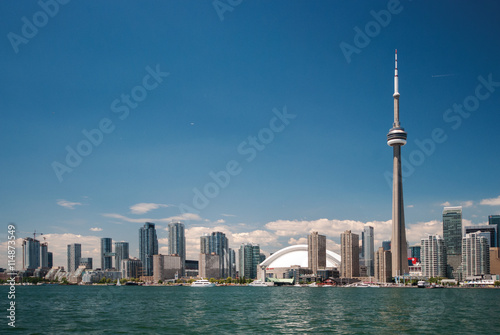 Spoed Foto op Canvas Toronto Toronto Downtown Skyline