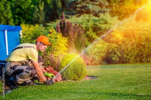 Obraz Garden Watering Systems - fototapety do salonu