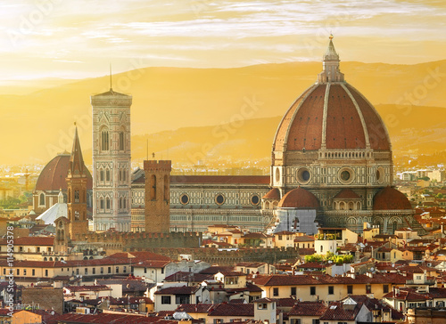 Aluminium Prints Florence View on Florence