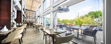 Modern Restaurant Interior On ...