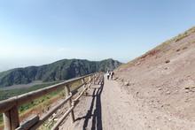 Path On The Mount Vesuvius