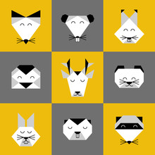 Animals Forest Origami 6