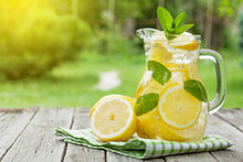 Lemonade With Lemon, Mint And ...