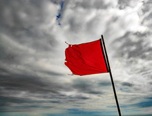 Torn, Red Warning Flag Flying ...