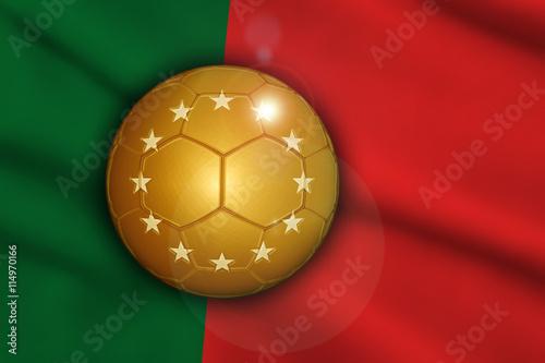 Photo  Portugal Europameister Champion