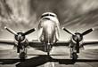canvas print picture - vintage airplane