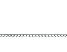 Railway Track. 3d Vector Illus...
