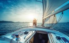 Couple On The Yacht