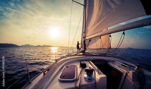 Sail boat Tapéta, Fotótapéta