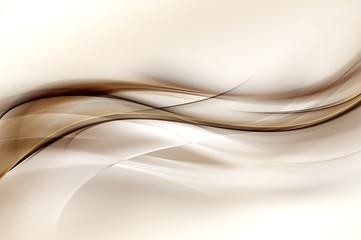 Abstrakcjonistyczny Brown fala projekta tło