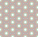 Geometric seamless Turtle shell pattern - 115000791