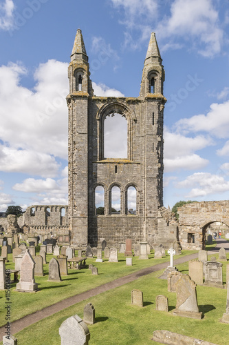 fototapeta na drzwi i meble St Andrews cathedral, Fife, Scotland