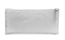 Front View Of Grey Pencil Case